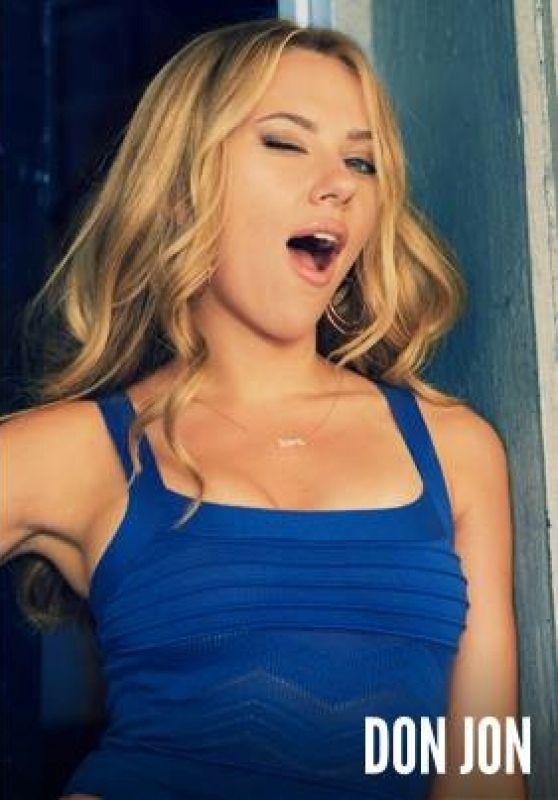 Scarlett Johansson - DON JON Movie Promo Stills