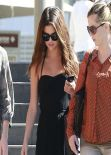 Selena Gomez Street Style - Going to Lunch in Century City