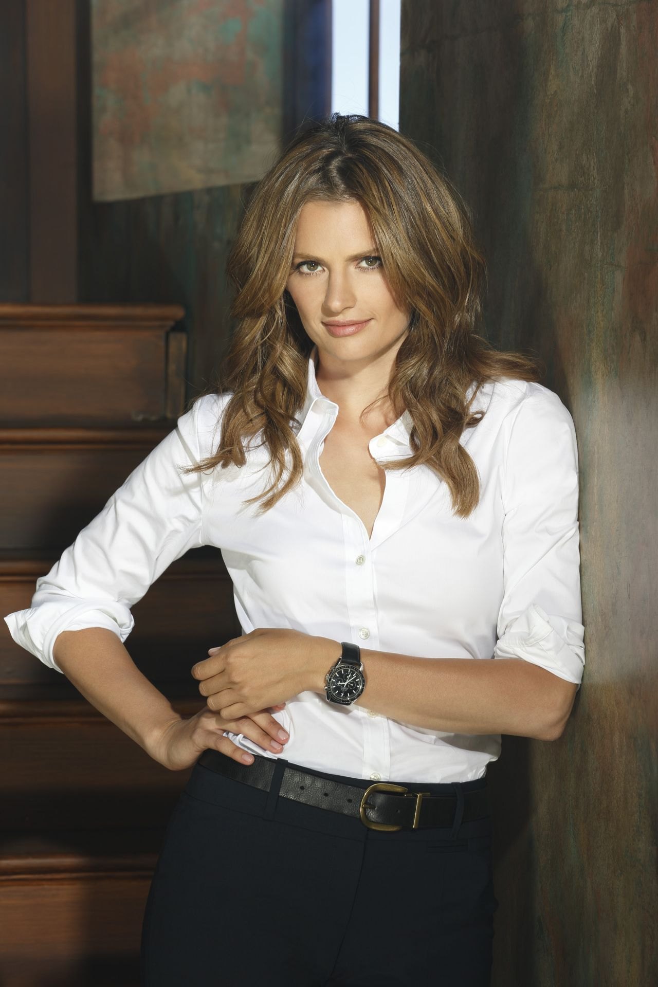 Stana Katic Promoshoot for Castle Season 6