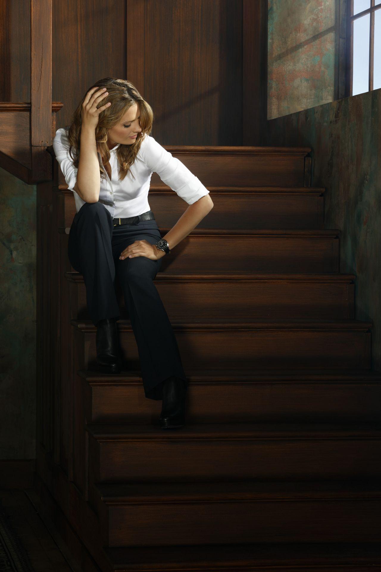 Stana Katic Promoshoot for Castle Season 6