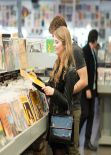 Stefanie Scott at Amoeba Music Store in Los Angeles - Part II