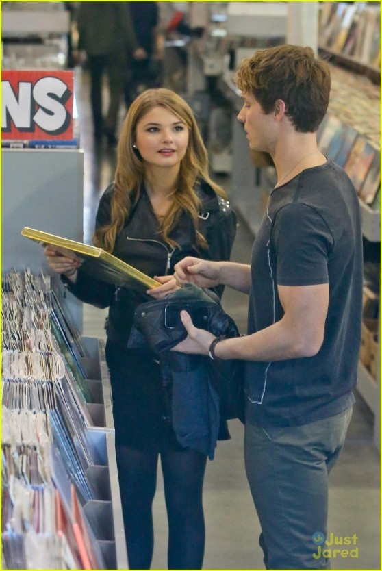 Stefanie Scott @ Amoeba Music store in Hollywood