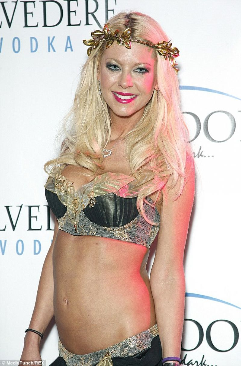 Tara Reid in a Bikini at Halloween Costume Party