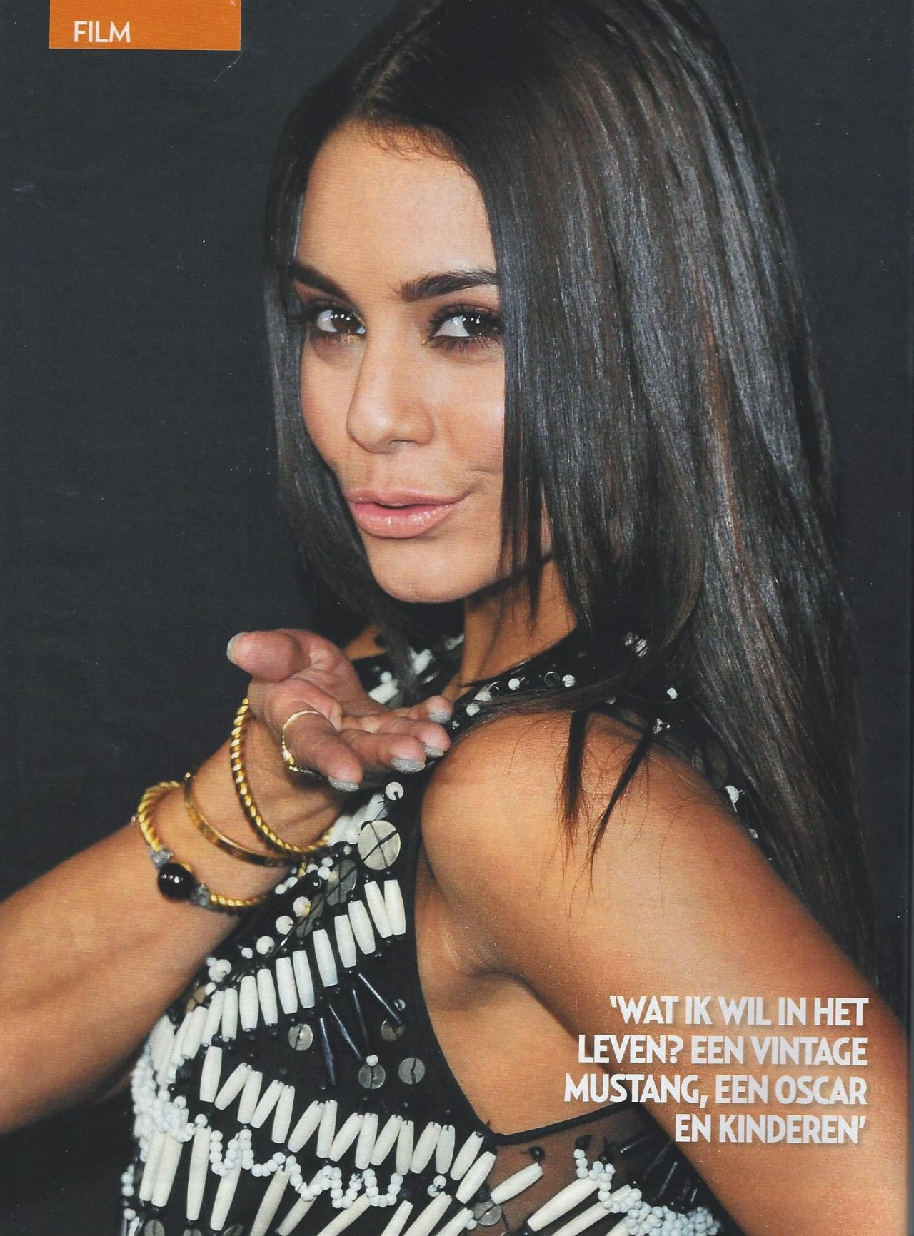 Vanessa Hudgens in VERONICA Magazine nr. 41