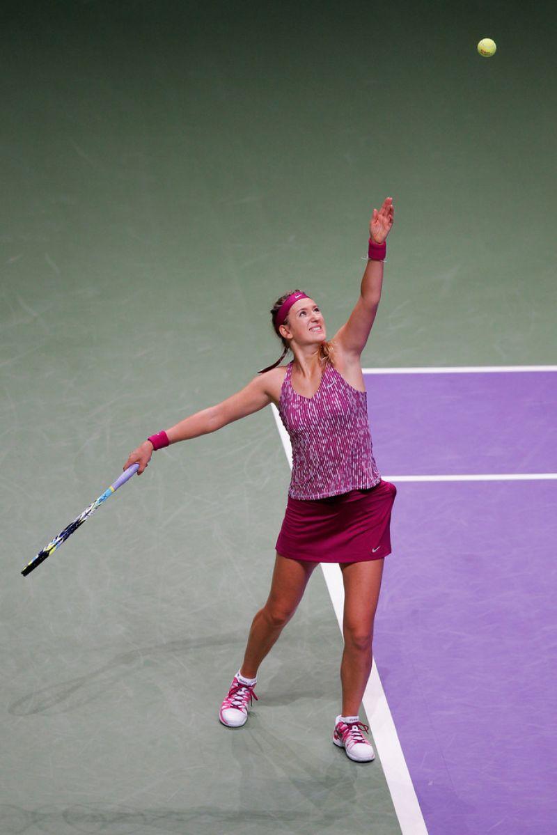 Victoria Azarenka - TEB BNP Paribas WTA Championships Day 4 in Istanbul