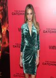 Hannah Davis Brings the Heat to THE HUNGER GAMES: CATCHING FIRE Premiere in New York City