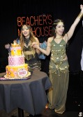 Stella Hudgens and Vanessa Hudgens - Stella Leggy at Her 18th Birthday Party - Beacher's Madhouse in Hollywood