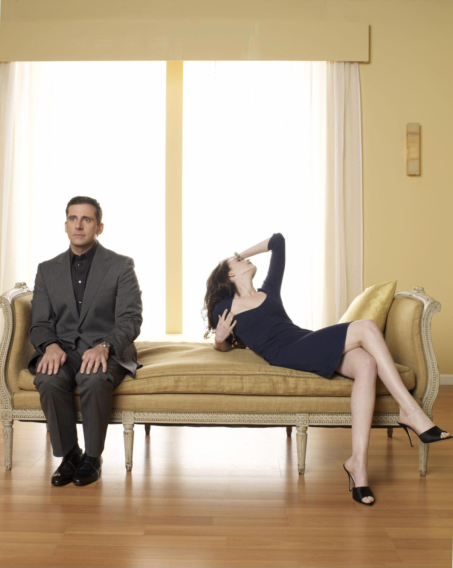 Anne Hathaway Leggy In High Heels Get Smart Photoshoot