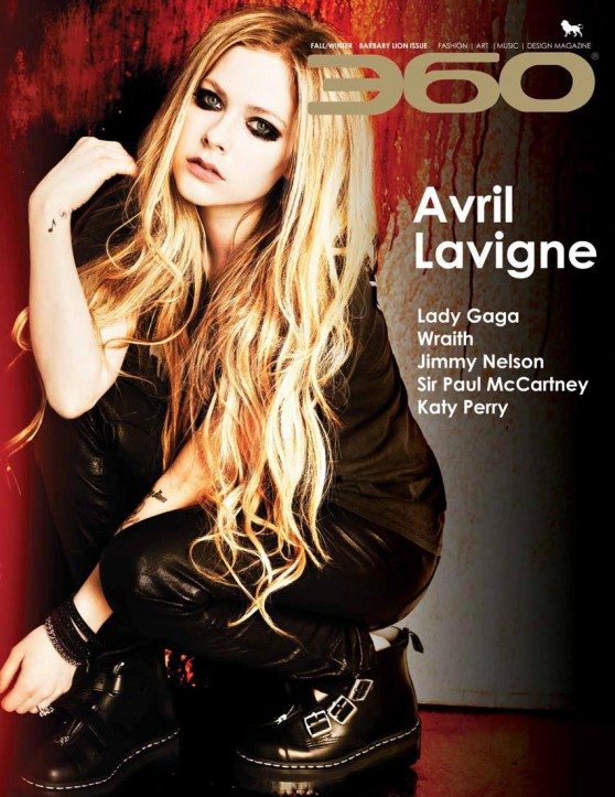Avril Lavigne - 360 Magazine