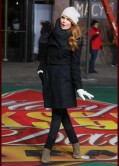 Debby Ryan - 87th Annual Macy's Thanksgiving Day Parade Rehearsals in NYC
