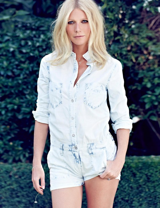 Gwyneth Paltrow - Max Abadian Photoshoot for RED Magazine - September 2013