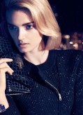Lily Donaldson Photoshoot for New Hugo Boss holiday Advertisements