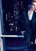 Lily Donaldson Photoshoot for New Hugo Boss holiday Advertisements