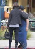 Mila Kunis Street Style -  in Jeans at the supermarket in Los Angeles - November 2013