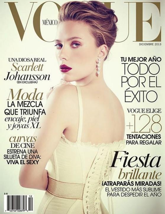 Scarlett Johansson - VOGUE Magezine (Mexico) - December 2013