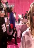 Alessandra Ambrosio, Lindsey Ellingson and Constance Jablonski - Victorias Secret Fashion Show 2013 2014 Backstage Caps and GIFs