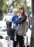 Alessandra Ambrosio Street Style - Out in Los Angeles - November 2013