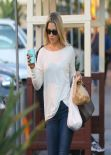 Ali Larter Street Style - in Tight Jeans Shopping in West Hollywood - November 2013
