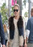Ali Larter Street Style - Shopping in Beverly Hills
