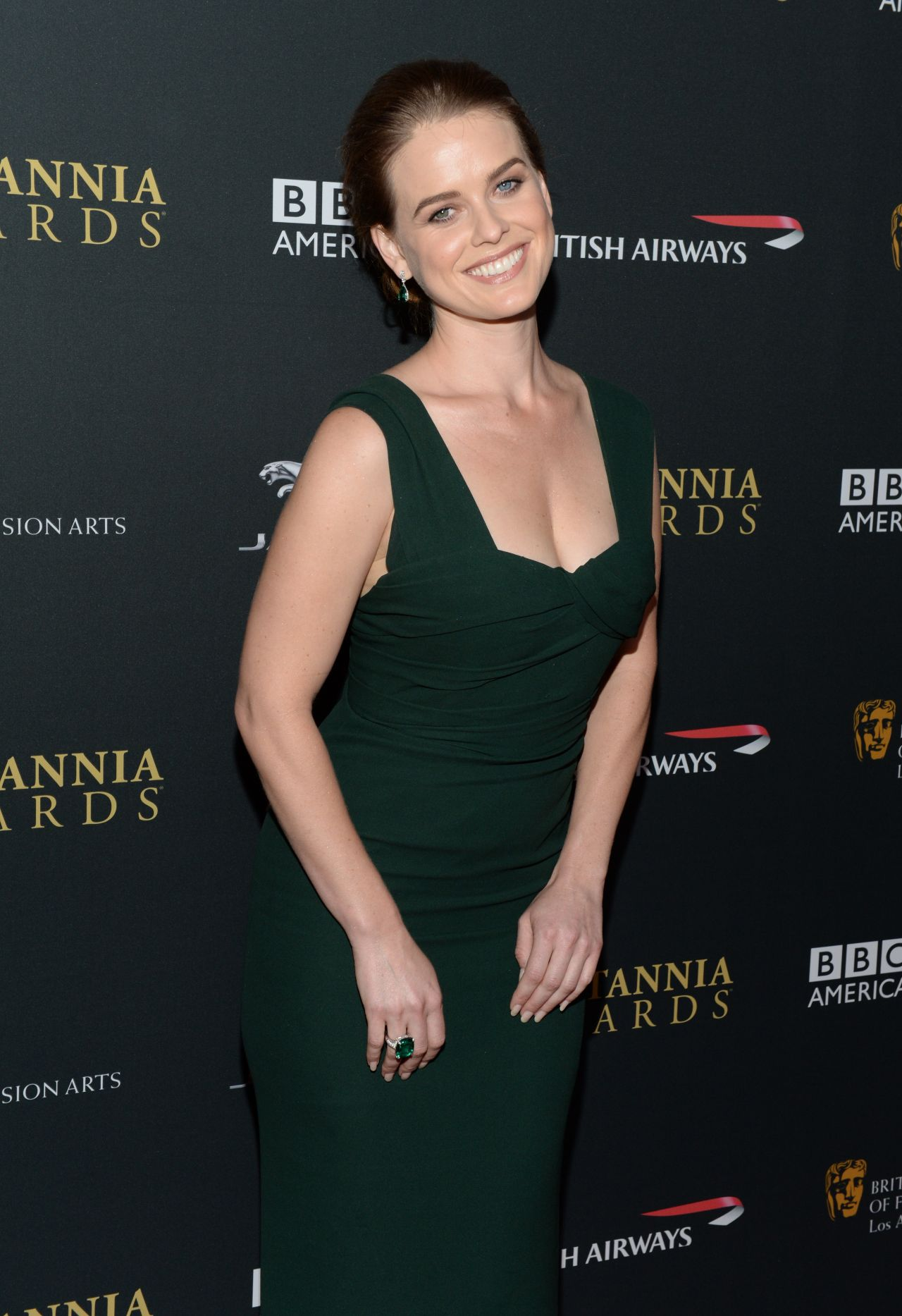 Alice Eve Red Carpet Photos - 2013 BAFTA LA Jaguar Britannia Awards