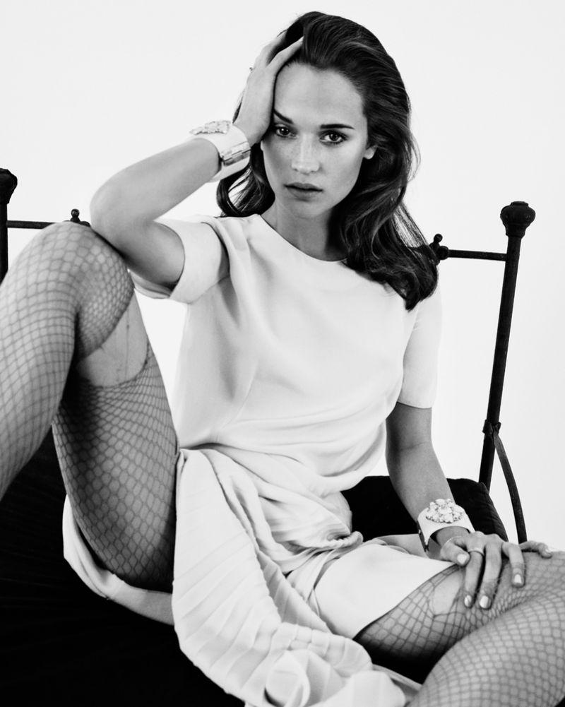 Alicia Vikander - Photoshoot by Mark Homa for V Magazine