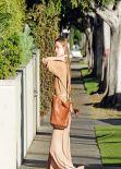 Amber Heard Street Style - Beverly Hills