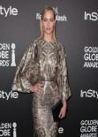 Amber Valletta - 2014 Golden Globe Awards Season in West Hollywood