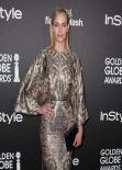 Amber Valletta - 2014 Golden Globe Awards Season in West Hollywood