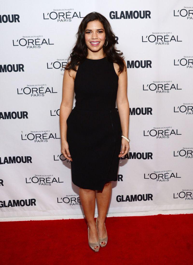 America Ferrera at Glamour