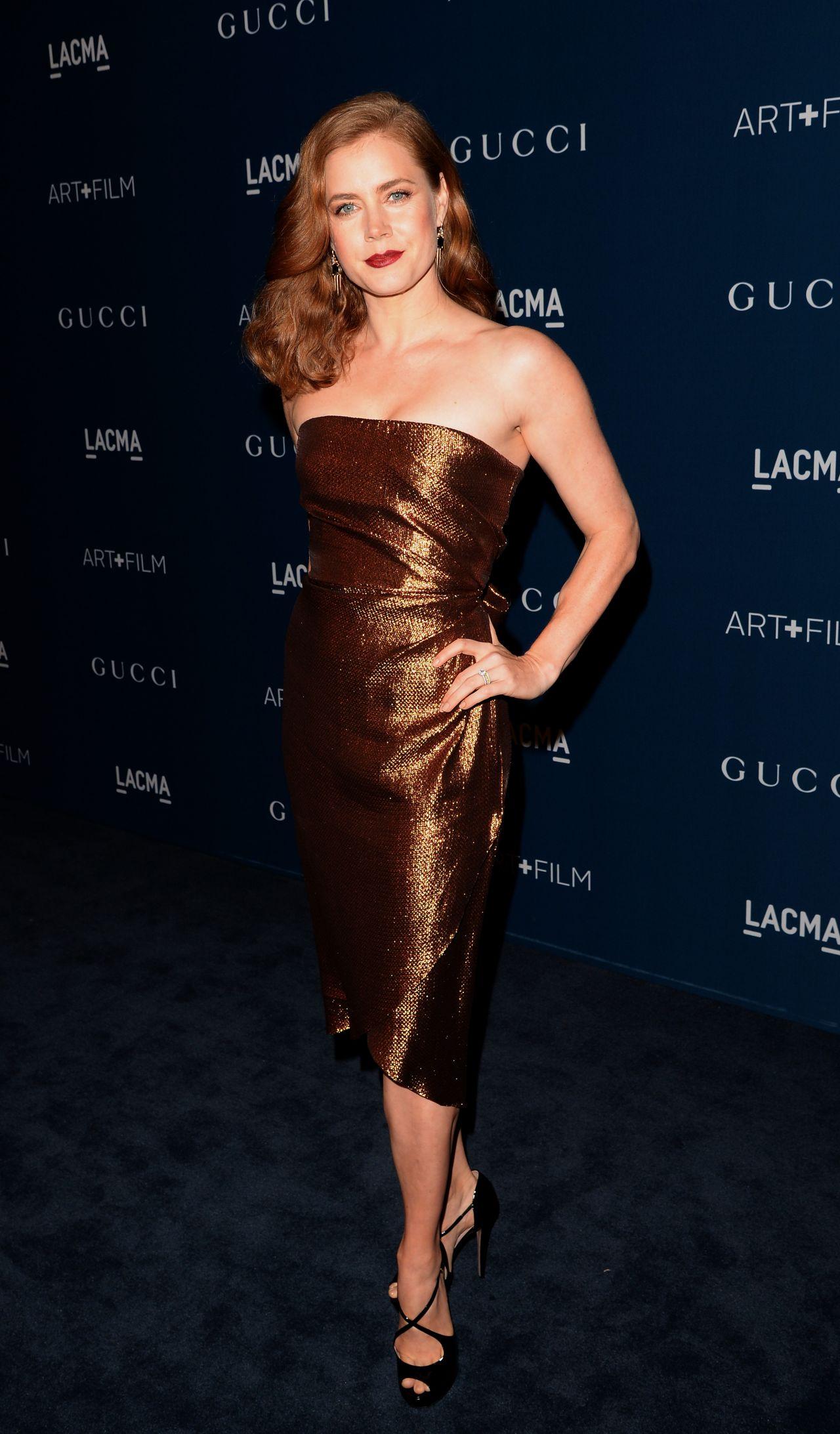 Amy Adams on Red Carpet - 2013 LACMA Art anc Film Gala in