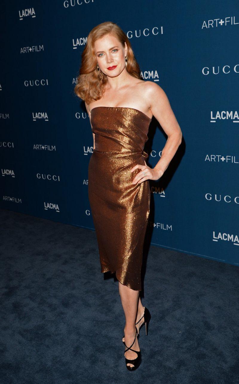 Amy Adams On Red Carpet 2013 Lacma Art Anc Film Gala In