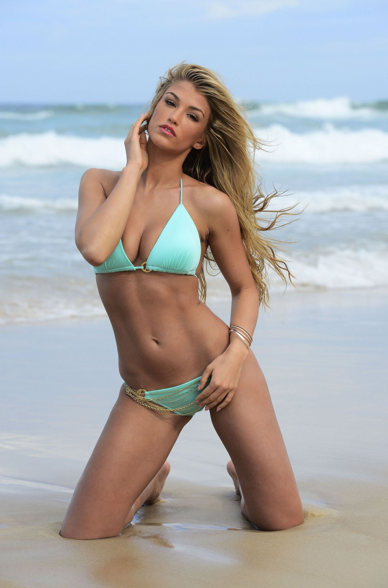 Amy Willerton in a Bikini - Surfers Paradise Australia Bikini - High Quality Photos