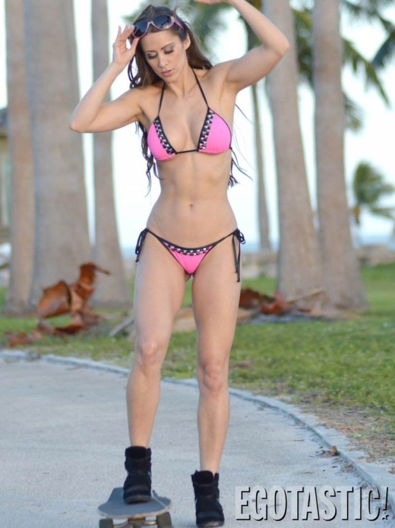 Anais Zanotti anais zanotti bikini skateboards in miami - november 2013