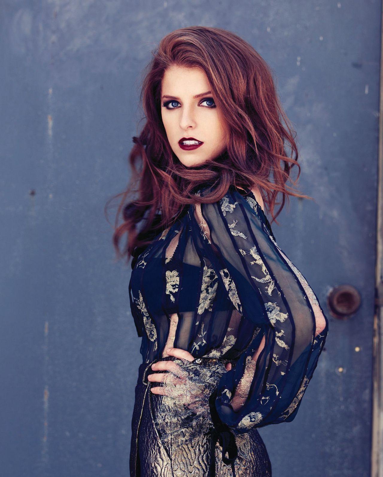 Anna Kendrick Photoshoot - John Russo - MODERN LUXURY  Magazine