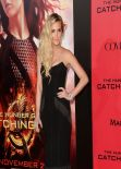 Ashlee Simpson Red Carpet Photos - THE HUNGER GAMES: CARCHING FIRE Premiere in Los Angeles