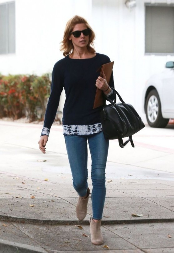 Ashley Greene in Jeans