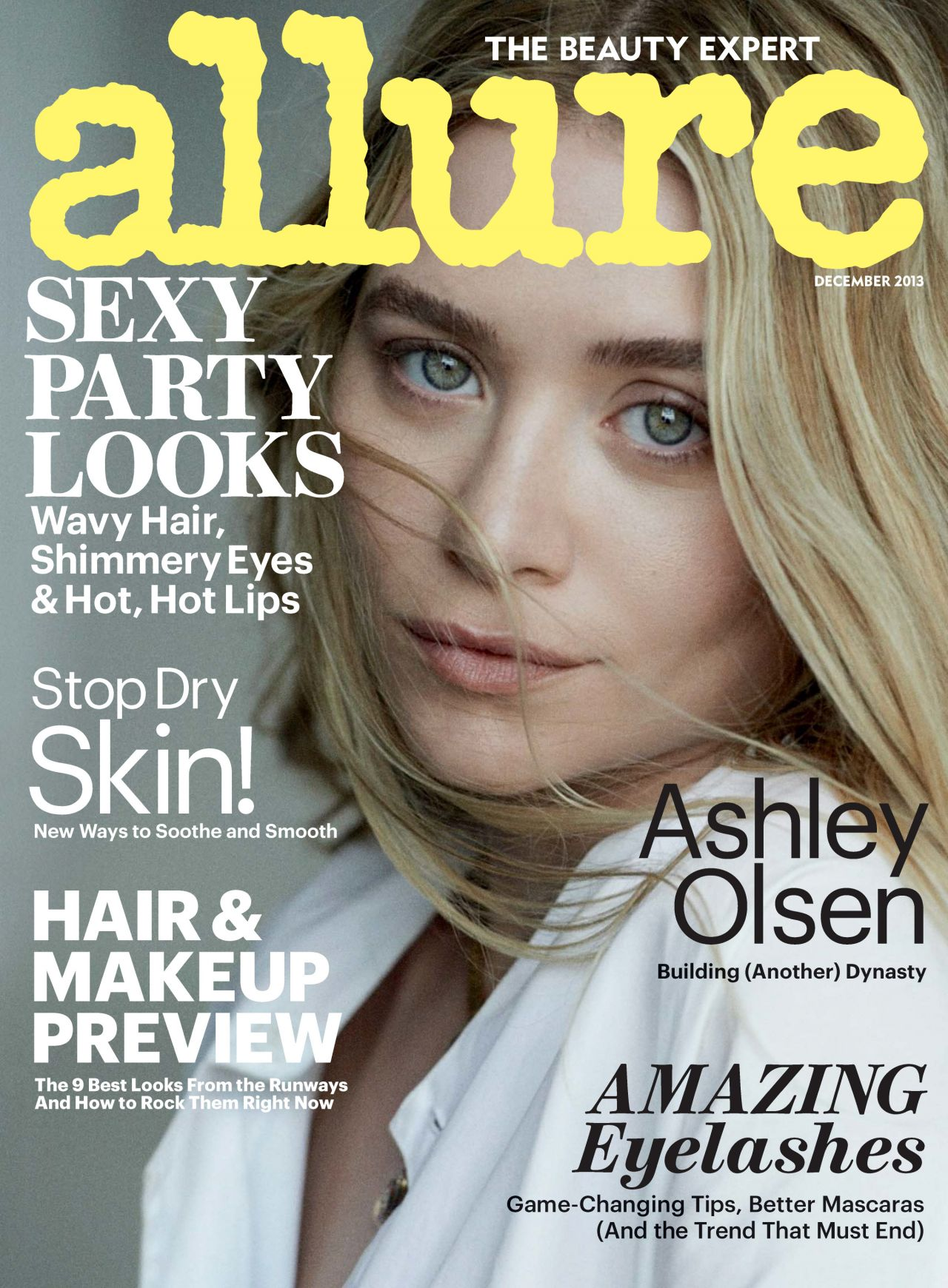 Ashley Olsen - ALLURE Magazine - December 2013 Issue
