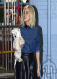 Ashley Roberts Street STyle - Keaving ITV Studios in London - November 2013