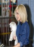 Ashley Roberts Street STyle - Keaving ITV Studios in London - November 2013
