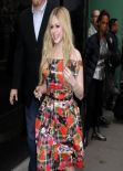 Avril Lavigne at Good Morning America in New York City