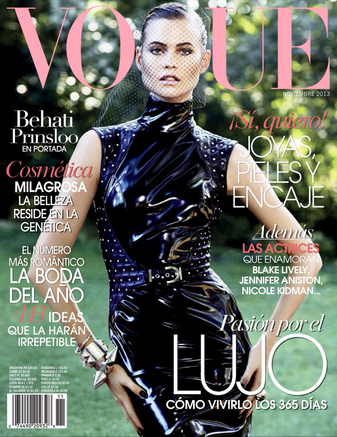 Behati Prinsloo - VOGUE Magazine (Mexico) - November 2013 Issue