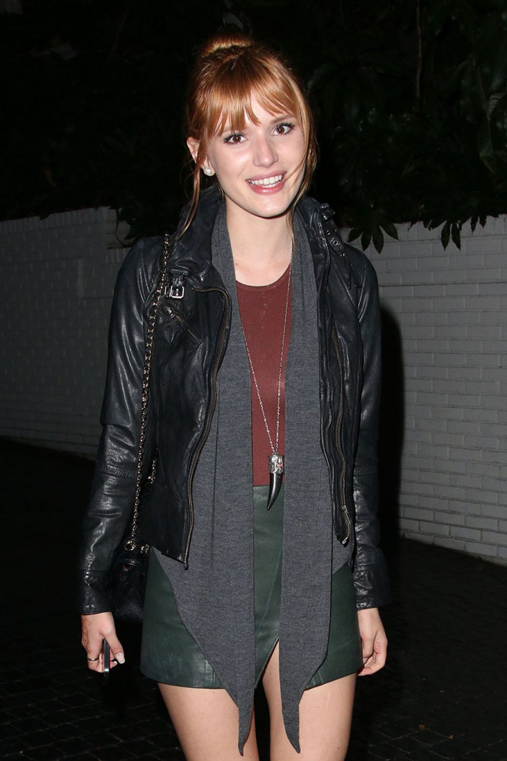 Bella Thorne  Attends the Chateau Marmont in West Hollywood