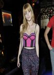 Bella Thorne - Cleavagy in a Corset Top at Stella Hudgens