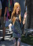 Bella Thorne Street Style - November 2013