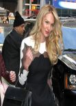 Candice Swanepoel Arriving to Good Morning America