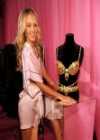 Candice Swanepoel – Backstage Victoria's Secret Fashion Show in New York City