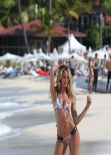 Candice Swanepoel Bikini Photoshoot - Victoria Secret Set in St. Barts - Part III
