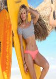 Candice Swanepoel in a Bikini - Victoria Secret Bikini Photoshoot in St. Barts