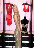 Candice Swanepoel Photos - Shows off The Royal Fantasy Bra