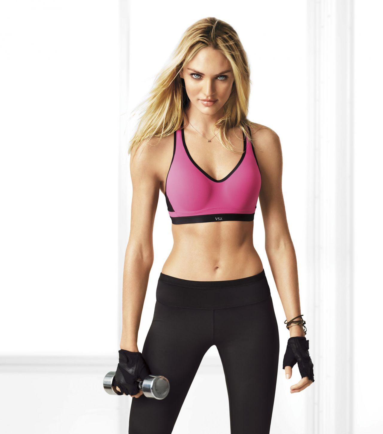 Candice Swanepoel Photoshoot -2013 VSX Sport